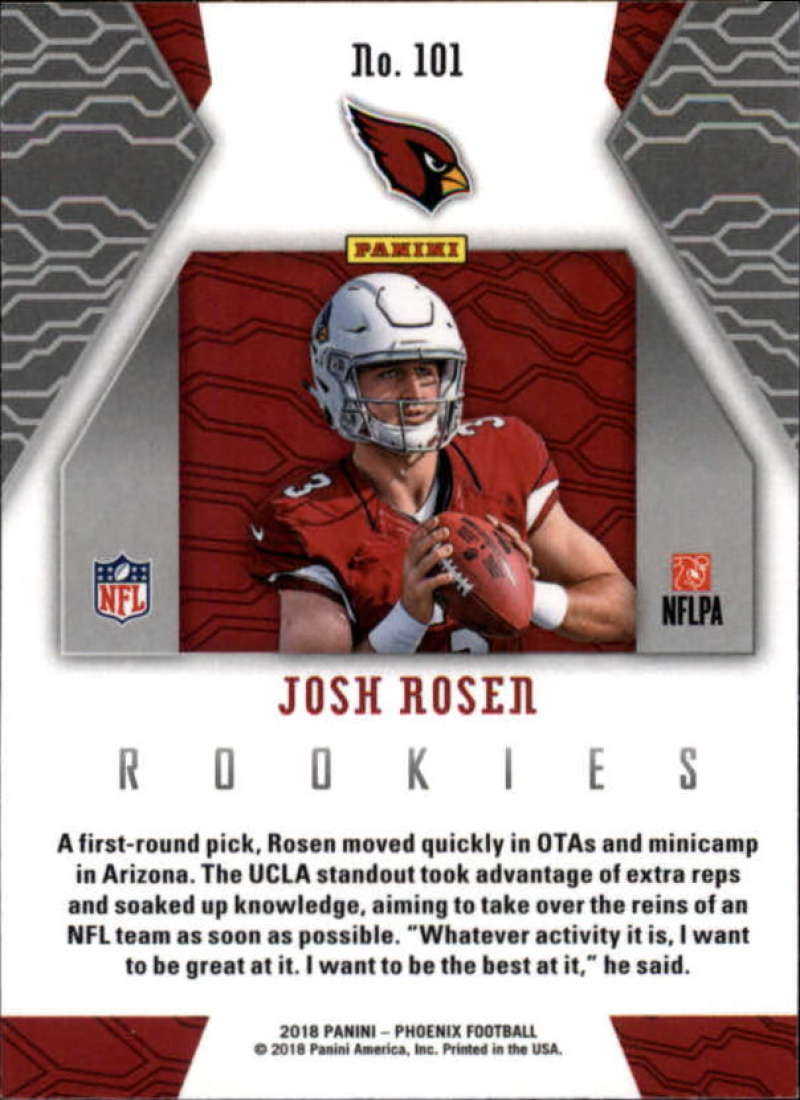 2018-Panini-PHOENIX-Football-Base-w-Inserts-and-Parallels-Pick-Your-Cards-Lot thumbnail 141