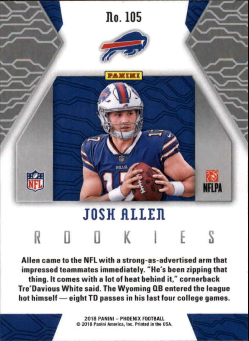 2018-Panini-PHOENIX-Football-Base-w-Inserts-and-Parallels-Pick-Your-Cards-Lot thumbnail 145