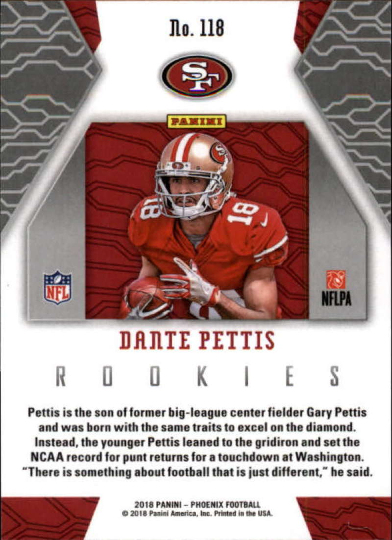 2018-Panini-PHOENIX-Football-Base-w-Inserts-and-Parallels-Pick-Your-Cards-Lot thumbnail 155