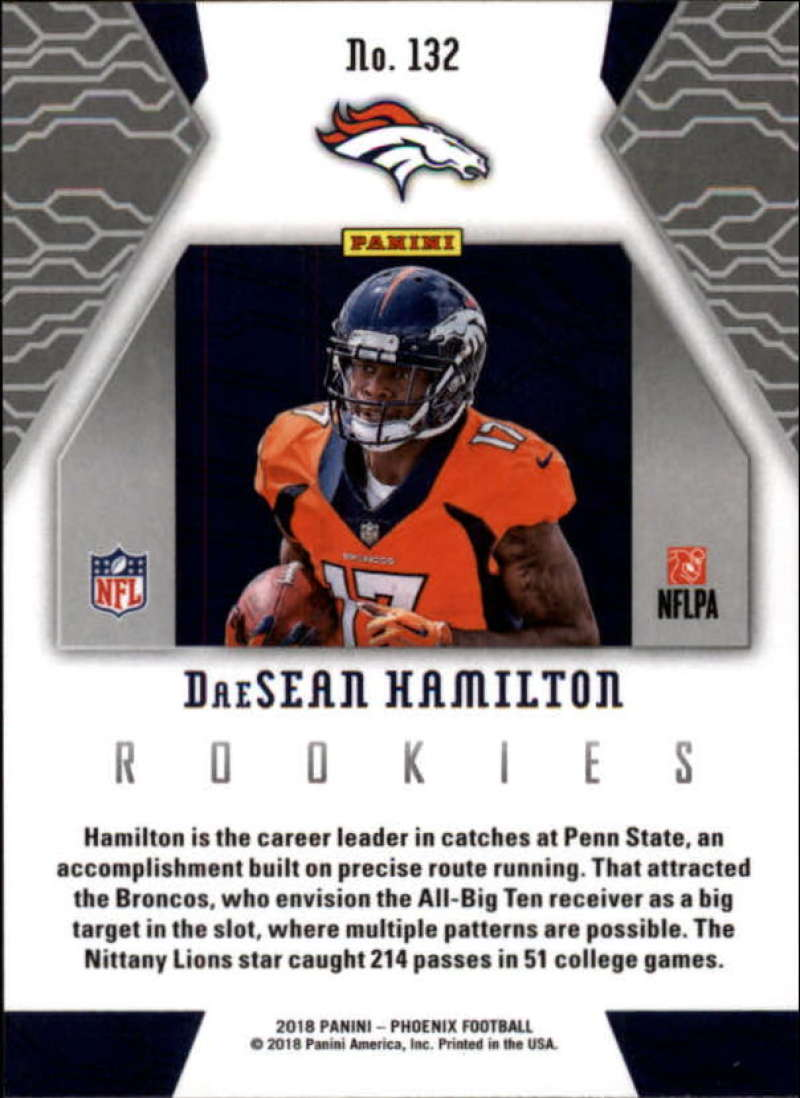 2018-Panini-PHOENIX-Football-Base-w-Inserts-and-Parallels-Pick-Your-Cards-Lot thumbnail 167