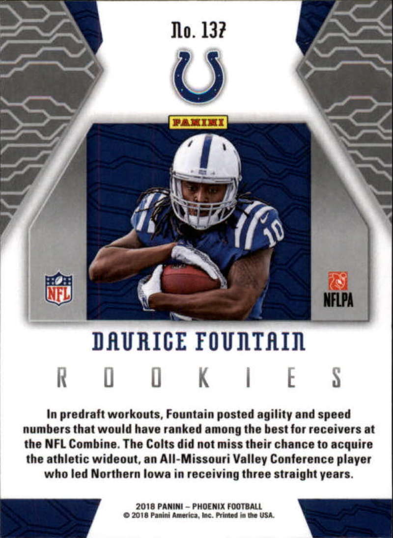 2018-Panini-PHOENIX-Football-Base-w-Inserts-and-Parallels-Pick-Your-Cards-Lot thumbnail 173