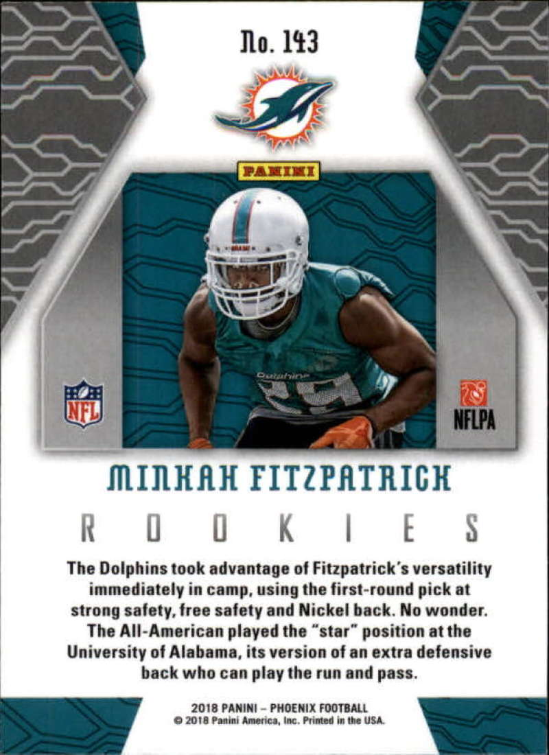 2018-Panini-PHOENIX-Football-Base-w-Inserts-and-Parallels-Pick-Your-Cards-Lot thumbnail 175