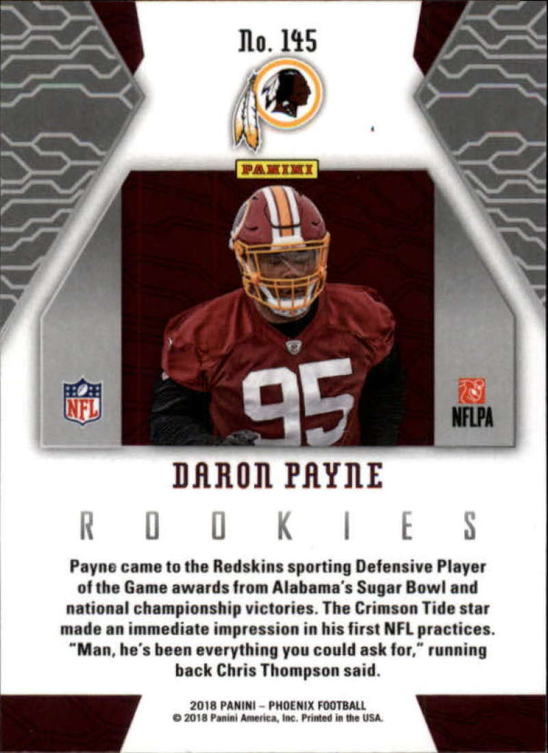 2018-Panini-PHOENIX-Football-Base-w-Inserts-and-Parallels-Pick-Your-Cards-Lot thumbnail 177