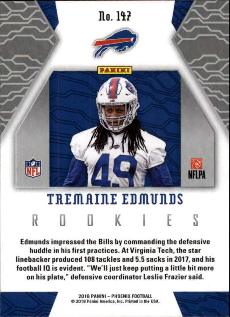 2018-Panini-PHOENIX-Football-Base-w-Inserts-and-Parallels-Pick-Your-Cards-Lot thumbnail 179