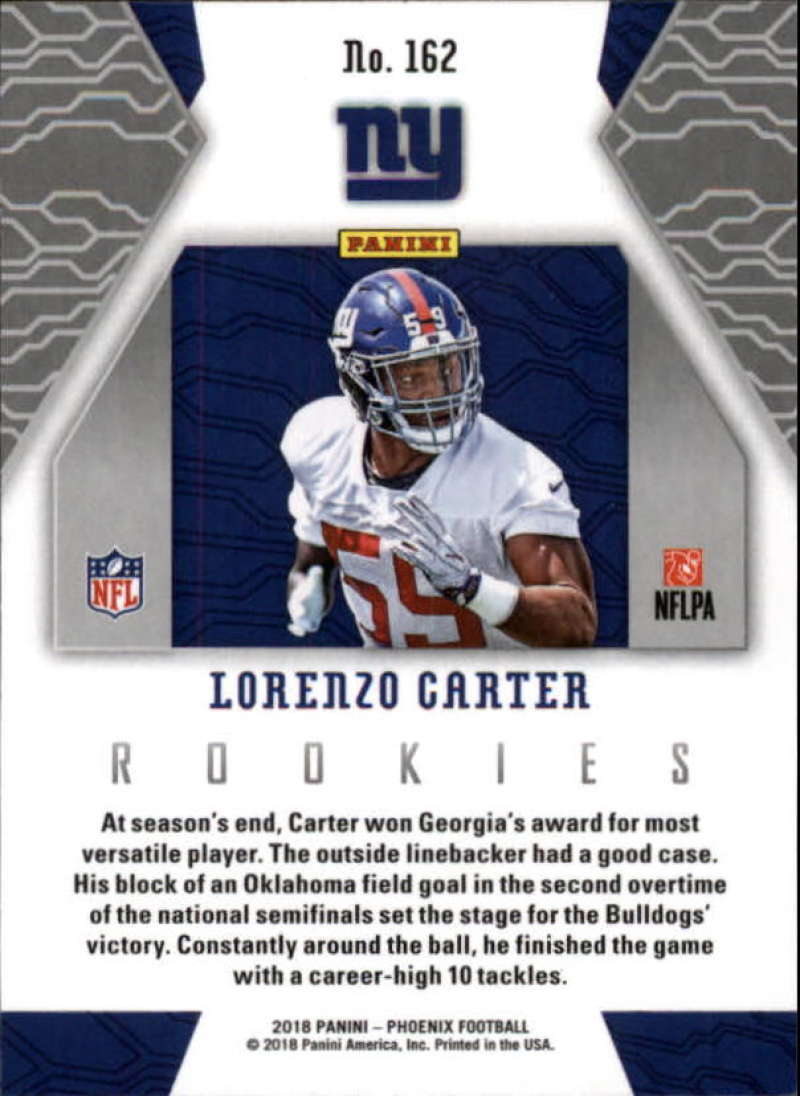 2018-Panini-PHOENIX-Football-Base-w-Inserts-and-Parallels-Pick-Your-Cards-Lot thumbnail 189