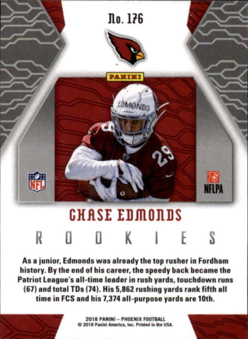2018-Panini-PHOENIX-Football-Base-w-Inserts-and-Parallels-Pick-Your-Cards-Lot thumbnail 201