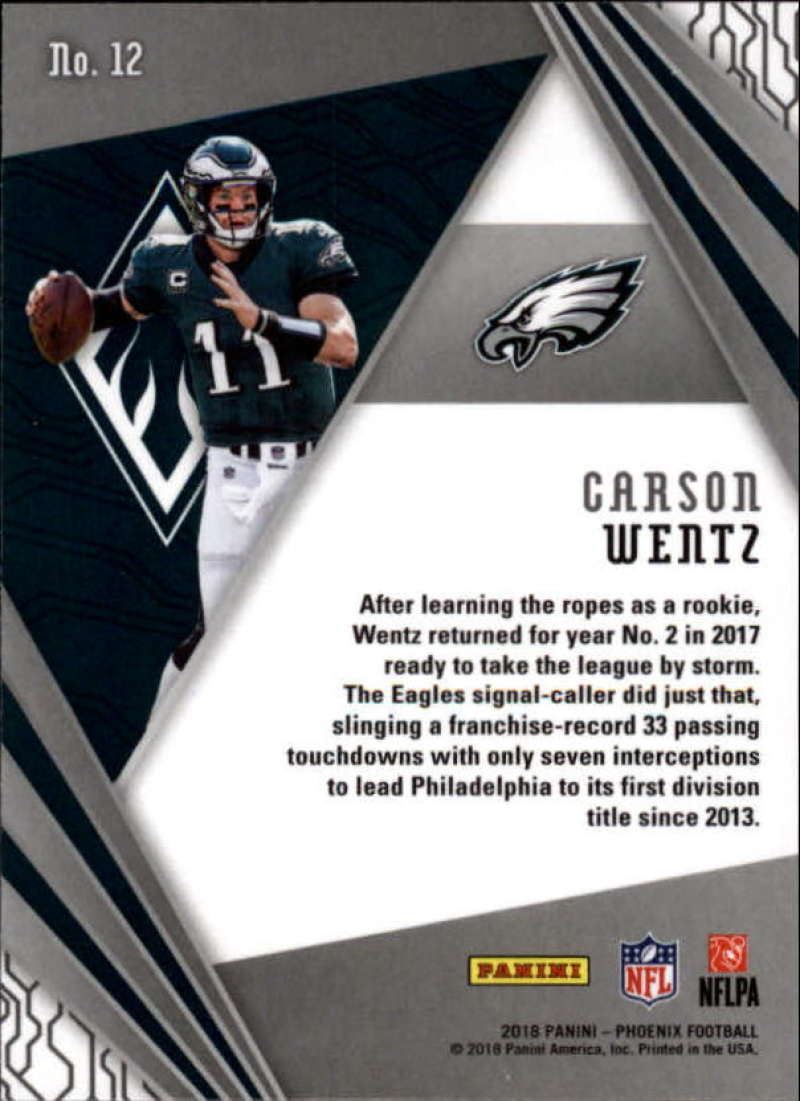 2018-Panini-PHOENIX-Football-Base-w-Inserts-and-Parallels-Pick-Your-Cards-Lot thumbnail 257