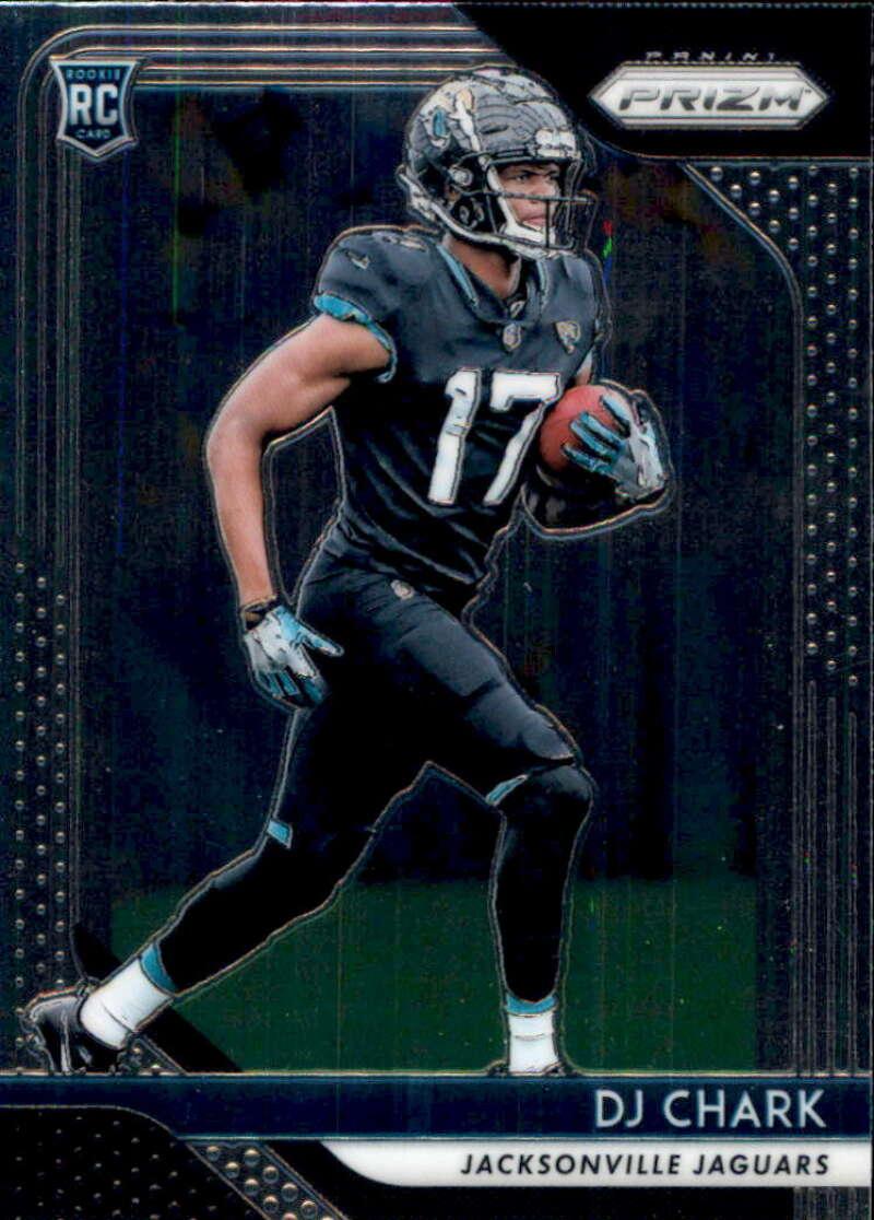 2018 Panini Prizm Football #223 DJ Chark Jr. Rookie RC Rookie Jacksonville Jaguars  Official NFL Trading Card