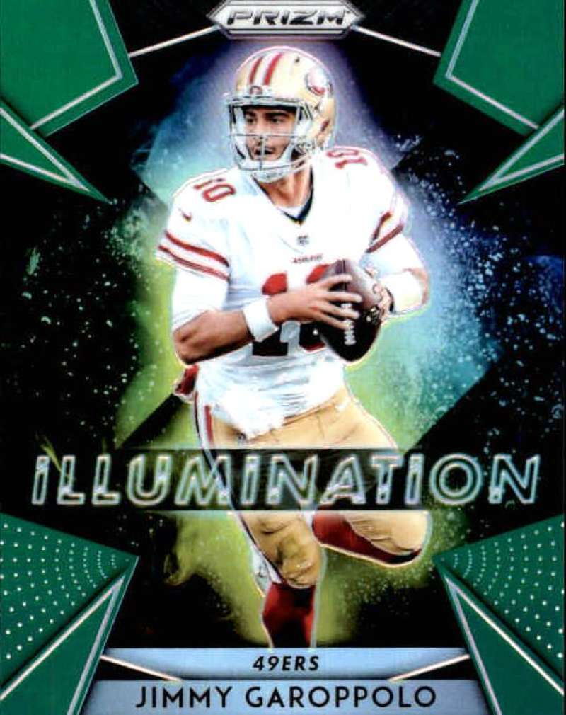 2018 Panini Prizm Illumination Prizm Green