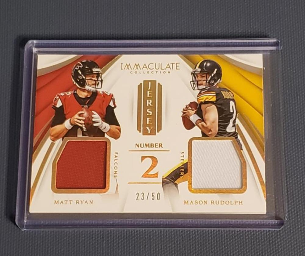 2018 Panini Immaculate Collection Dual Jersey Numbers