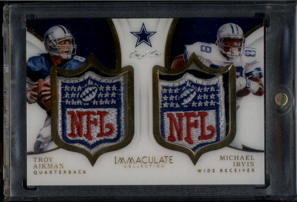 2018 Panini Immaculate Collection Dual NFL Shields