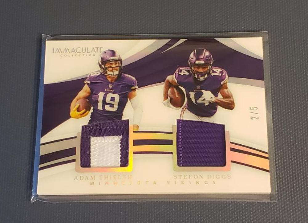 2018 Panini Immaculate Collection Dual Prime Platinum