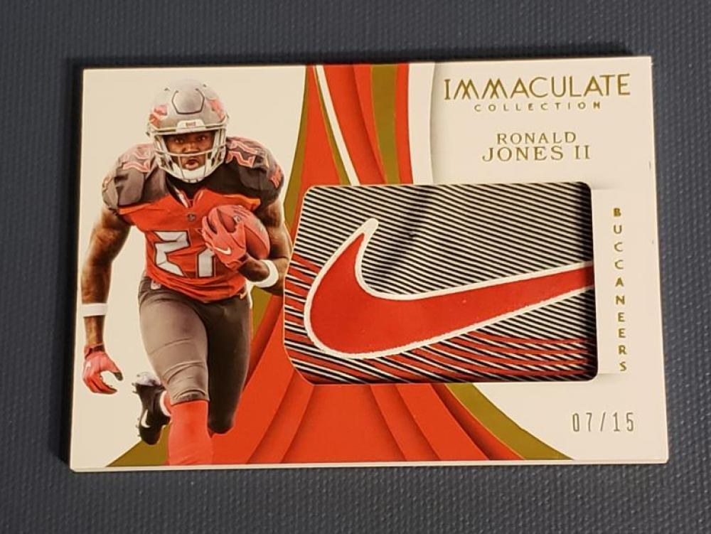 2018 Panini Immaculate Collection Gloves Brand Logos