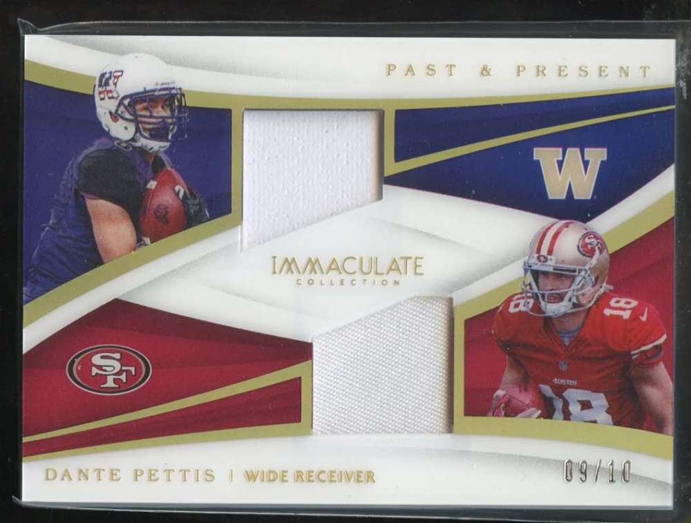 2018 Panini Immaculate Collection Past and Present Prime Gold