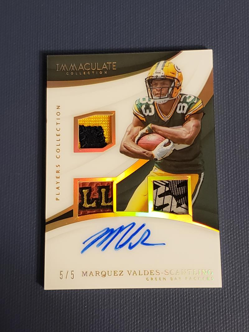 2018 Panini Immaculate Collection Players Collection Autographs Gold