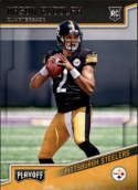 2018 Panini Playoff #225 Mason Rudolph Rookie NM-MT RC Pittsburgh Steelers Rookie  Official NFL Football Card