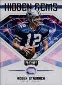 2018 Playoff NFL Hidden Gems #8 Roger Staubach Dallas Cowboys  Official Panini Football Trading Card
