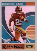 2018 Panini Playoff Rookie Wave #14 Derrius Guice NM+