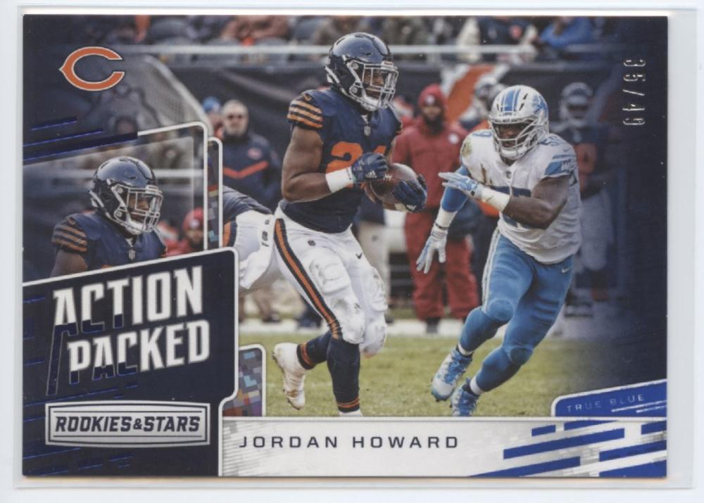 2018 Panini Rookies and Stars Action Packed True Blue