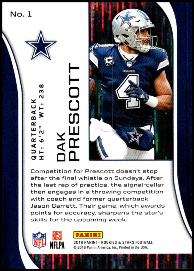 Pick-Your-Cards-Lot-2018-Rookies-and-Stars-NFL-Football-Panini-Singles-w-RC thumbnail 3