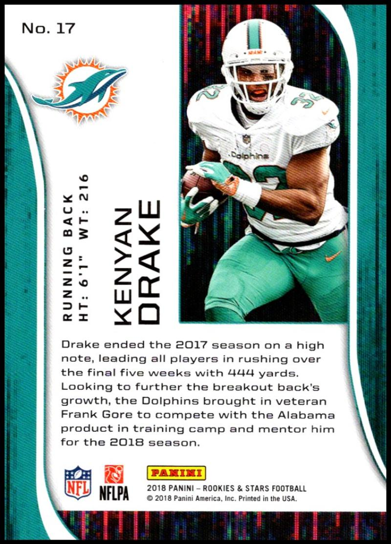 b5e25a790e8 2018 Rookie and Stars (Panini) Football Cards Pick From List ...