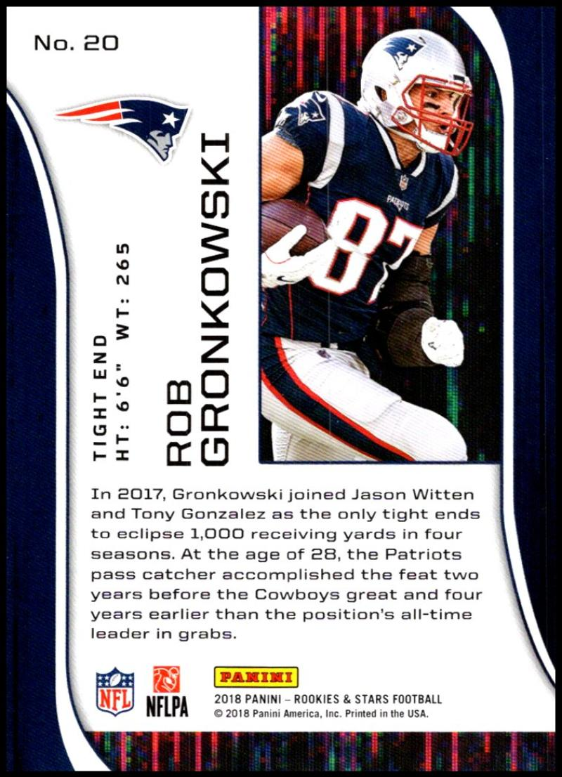 Pick-Your-Cards-Lot-2018-Rookies-and-Stars-NFL-Football-Panini-Singles-w-RC thumbnail 25