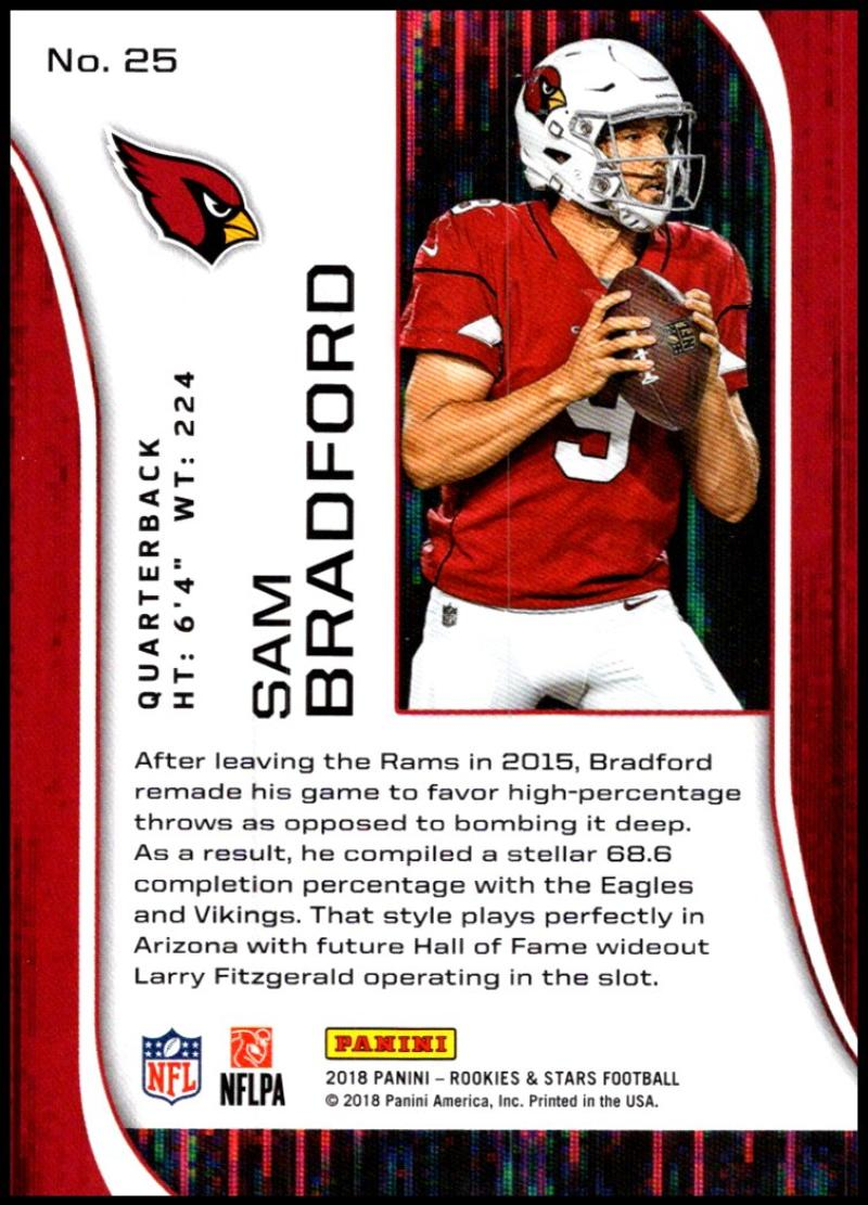 Pick-Your-Cards-Lot-2018-Rookies-and-Stars-NFL-Football-Panini-Singles-w-RC thumbnail 31