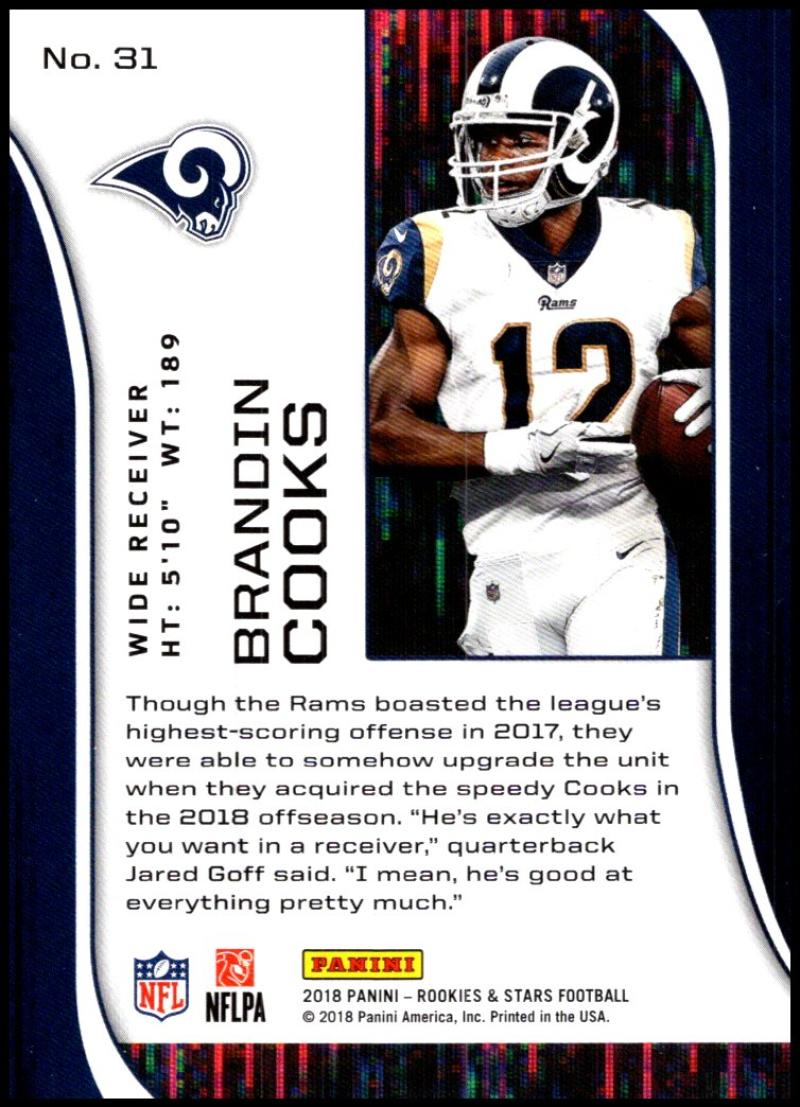 Pick-Your-Cards-Lot-2018-Rookies-and-Stars-NFL-Football-Panini-Singles-w-RC thumbnail 37