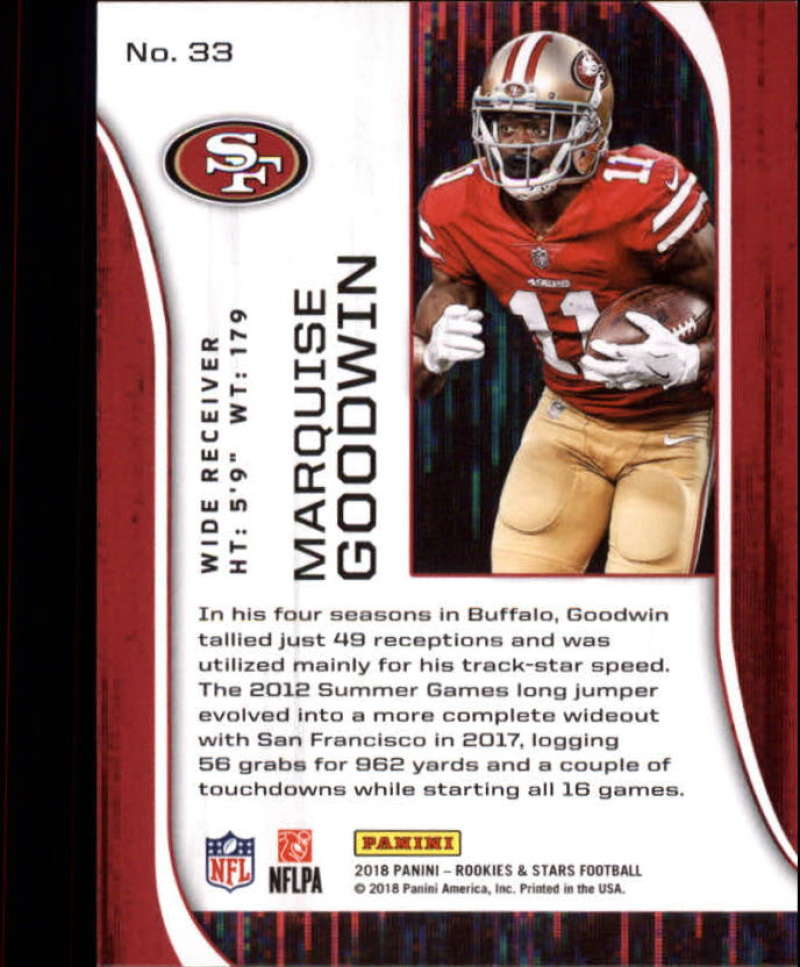 Pick-Your-Cards-Lot-2018-Rookies-and-Stars-NFL-Football-Panini-Singles-w-RC thumbnail 39