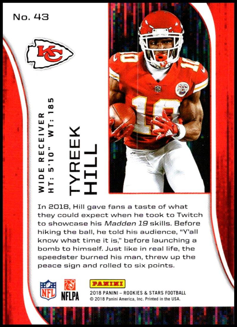 Pick-Your-Cards-Lot-2018-Rookies-and-Stars-NFL-Football-Panini-Singles-w-RC thumbnail 51