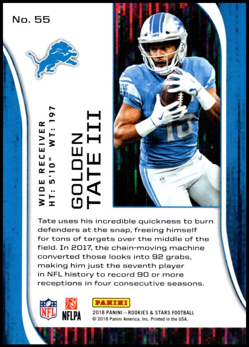 Pick-Your-Cards-Lot-2018-Rookies-and-Stars-NFL-Football-Panini-Singles-w-RC thumbnail 67