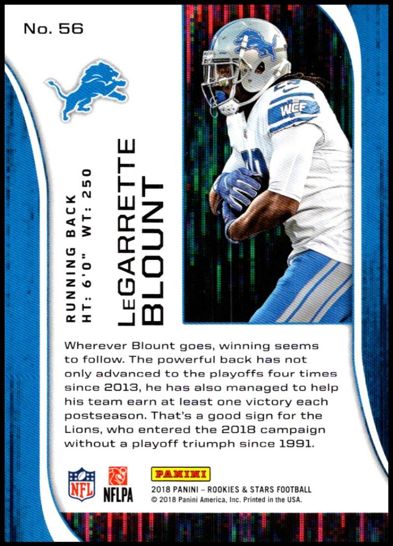 Pick-Your-Cards-Lot-2018-Rookies-and-Stars-NFL-Football-Panini-Singles-w-RC thumbnail 69