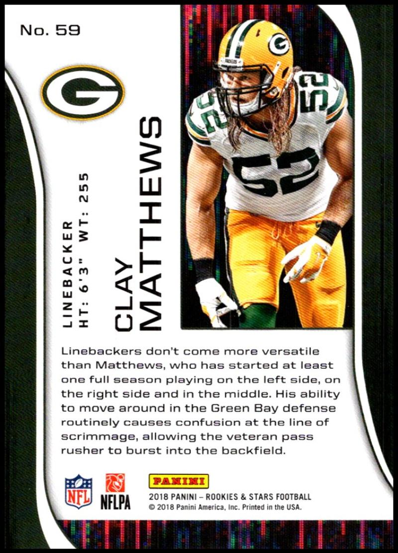 Pick-Your-Cards-Lot-2018-Rookies-and-Stars-NFL-Football-Panini-Singles-w-RC thumbnail 71