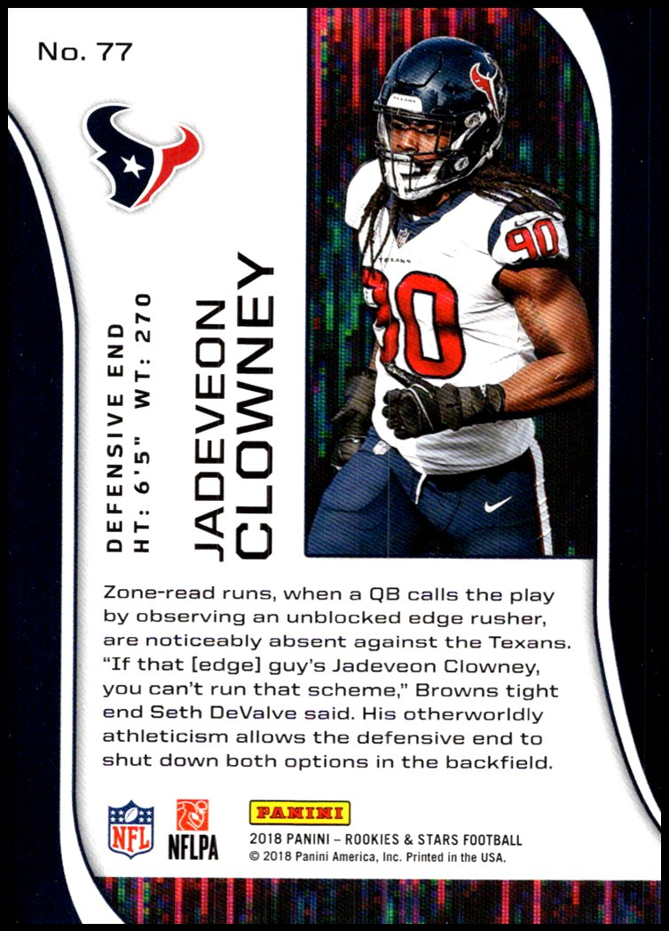 Pick-Your-Cards-Lot-2018-Rookies-and-Stars-NFL-Football-Panini-Singles-w-RC thumbnail 93