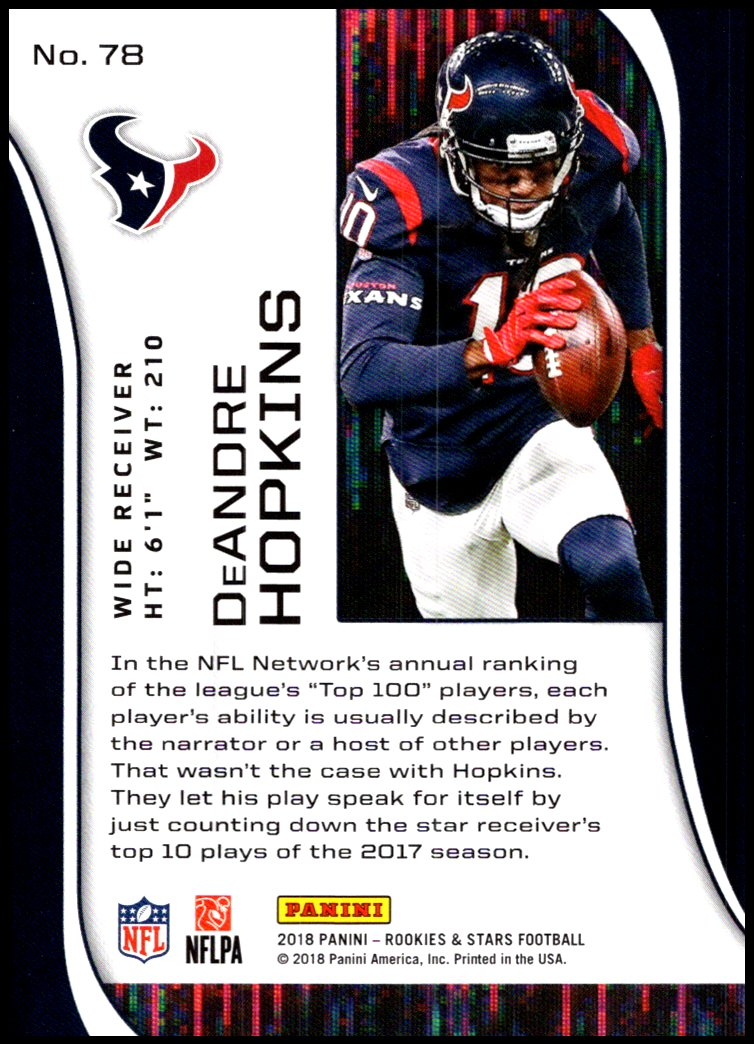 Pick-Your-Cards-Lot-2018-Rookies-and-Stars-NFL-Football-Panini-Singles-w-RC thumbnail 95
