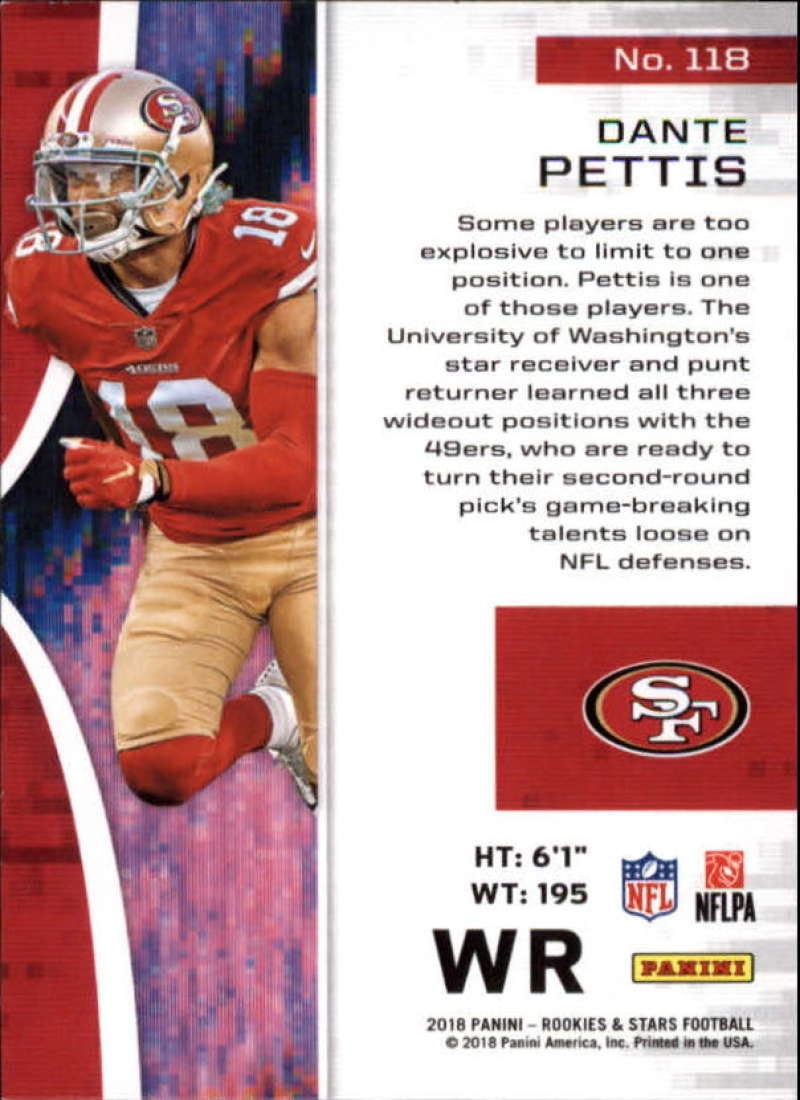 Pick-Your-Cards-Lot-2018-Rookies-and-Stars-NFL-Football-Panini-Singles-w-RC thumbnail 145