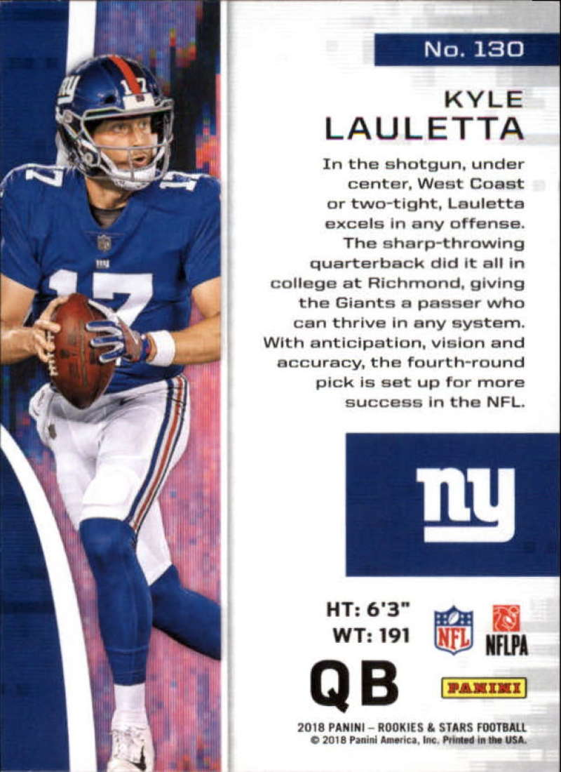 Pick-Your-Cards-Lot-2018-Rookies-and-Stars-NFL-Football-Panini-Singles-w-RC thumbnail 157