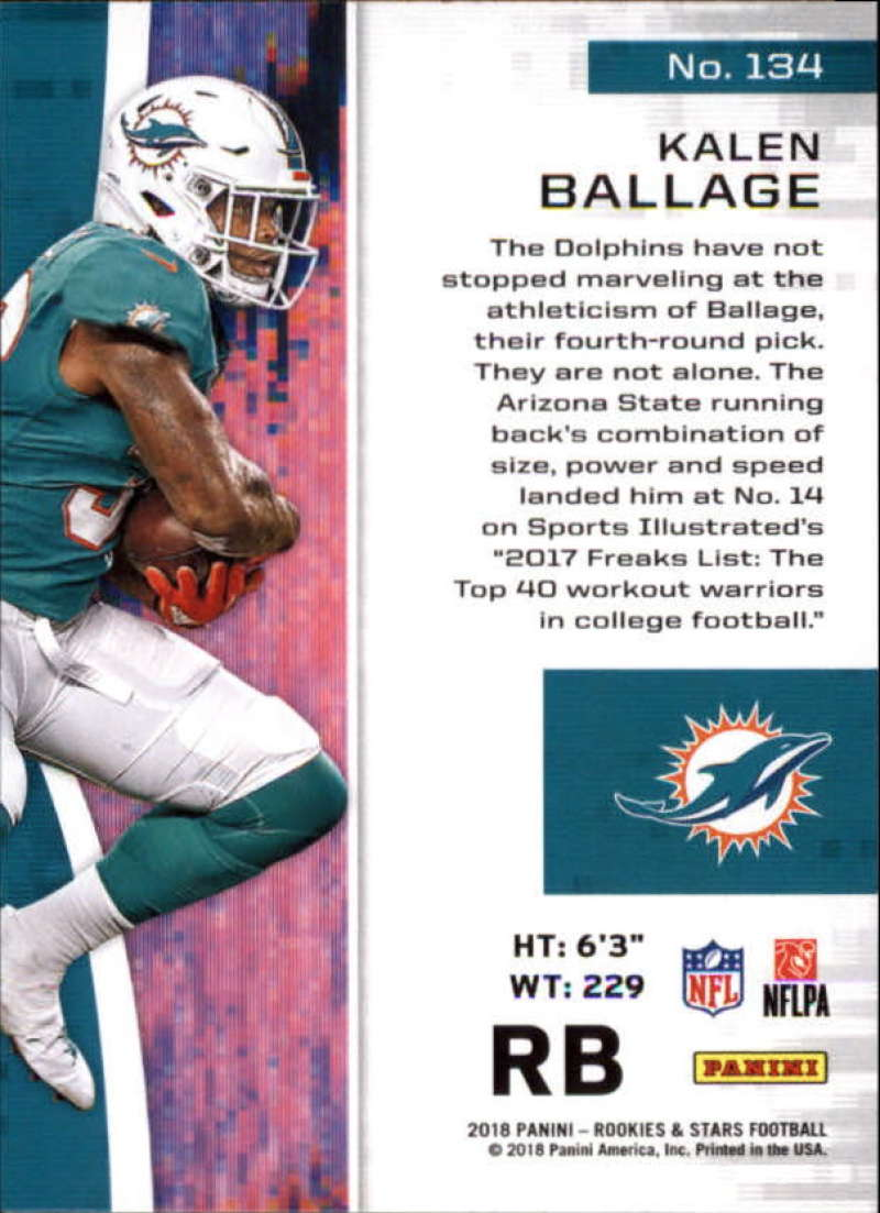 Pick-Your-Cards-Lot-2018-Rookies-and-Stars-NFL-Football-Panini-Singles-w-RC thumbnail 163