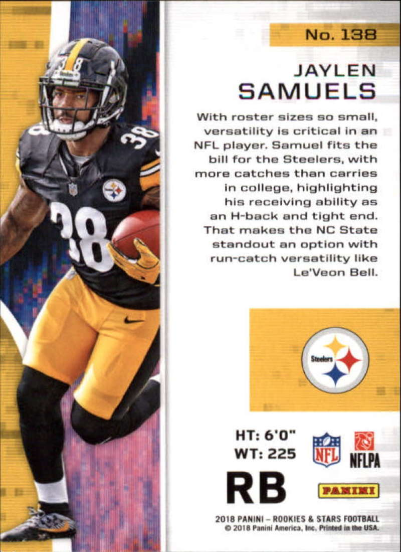 Pick-Your-Cards-Lot-2018-Rookies-and-Stars-NFL-Football-Panini-Singles-w-RC thumbnail 169