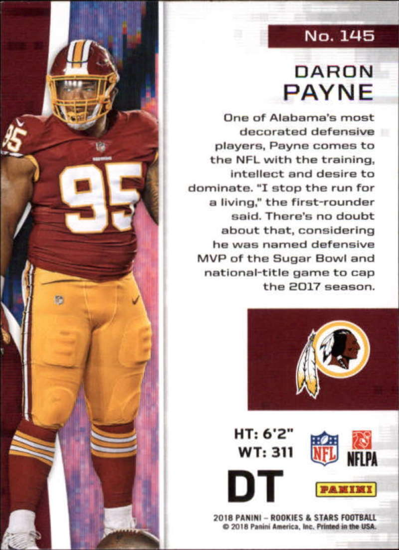 Pick-Your-Cards-Lot-2018-Rookies-and-Stars-NFL-Football-Panini-Singles-w-RC thumbnail 175