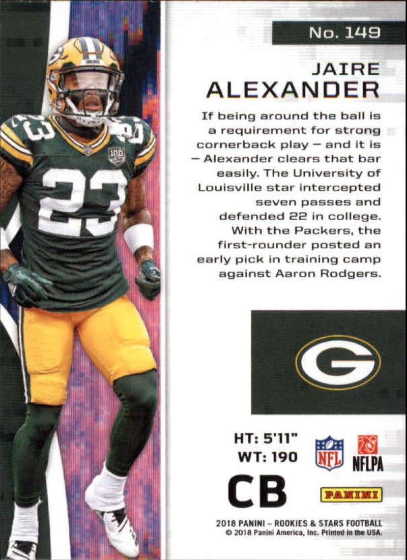 Pick-Your-Cards-Lot-2018-Rookies-and-Stars-NFL-Football-Panini-Singles-w-RC thumbnail 179