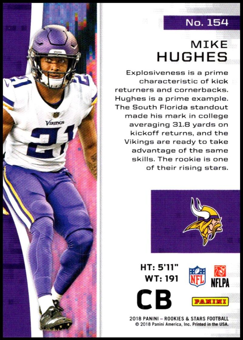 Pick-Your-Cards-Lot-2018-Rookies-and-Stars-NFL-Football-Panini-Singles-w-RC thumbnail 185