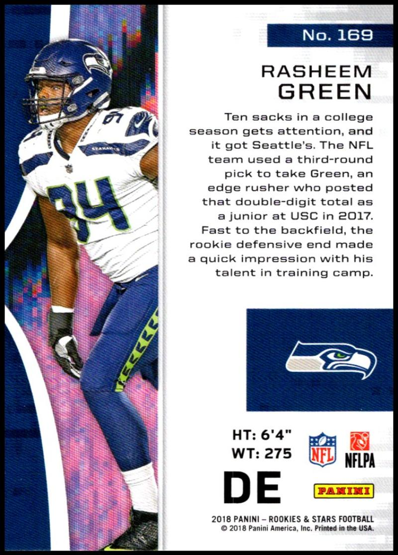 Pick-Your-Cards-Lot-2018-Rookies-and-Stars-NFL-Football-Panini-Singles-w-RC thumbnail 201