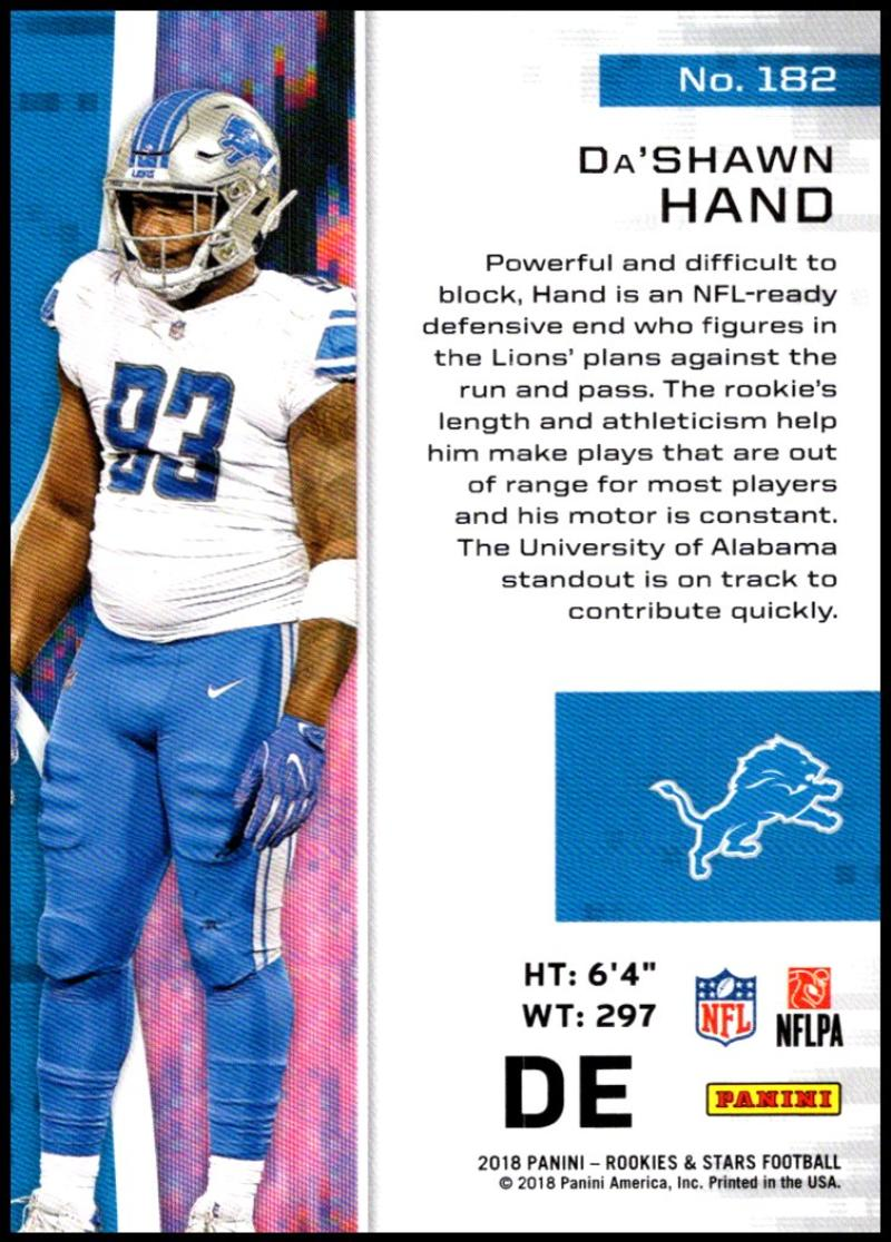 Pick-Your-Cards-Lot-2018-Rookies-and-Stars-NFL-Football-Panini-Singles-w-RC thumbnail 215