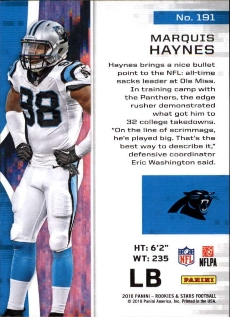 Pick-Your-Cards-Lot-2018-Rookies-and-Stars-NFL-Football-Panini-Singles-w-RC thumbnail 225