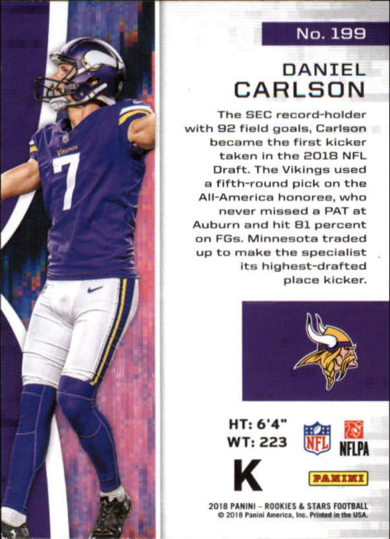 Pick-Your-Cards-Lot-2018-Rookies-and-Stars-NFL-Football-Panini-Singles-w-RC thumbnail 235
