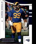 2018 Panini Rookies and Stars #30 Aaron Donald NM-MT Los Angeles Rams Official NFL Football Card