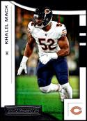 2018 Rookies and Stars Football #50 Khalil Mack Chicago Bears  Official NFL Trading Card Produced by Panini