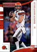 2018 Rookies and Stars Football #101 Baker Mayfield RC Rookie Card Cleveland Browns Rookie  Official NFL Trading Card Produced by Panini