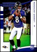 2018 Rookies and Stars Football #112 Lamar Jackson RC Rookie Card Baltimore Ravens Rookie  Official NFL Trading Card Produced by Panini